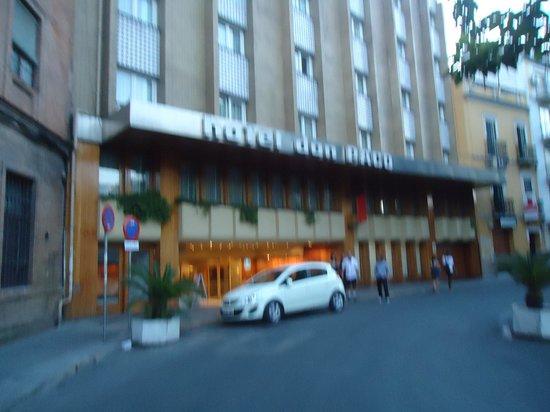 Hotel Don Paco: fachada