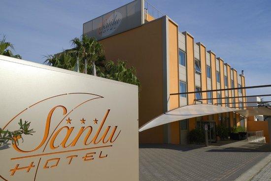 Serrano, Italie: Benvenuti al Sanlu Hotel