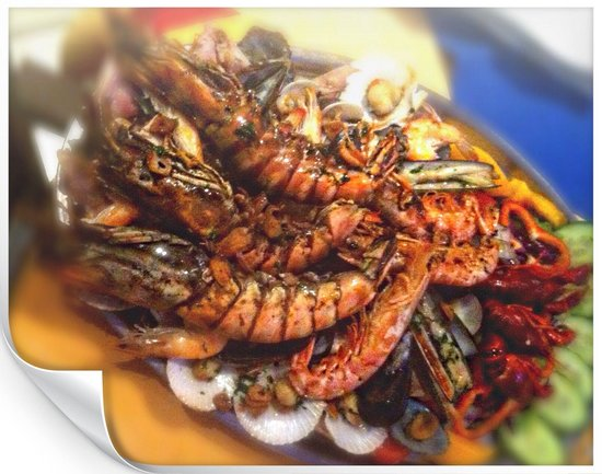 Grill Costa Mar: Mixed Grilled fresh Fish and Seafood for 4 pax