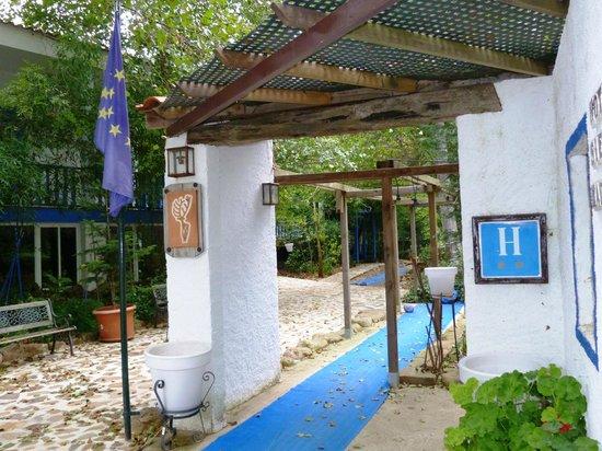 Hotel Sierra Madrona: Entrada del Hotel