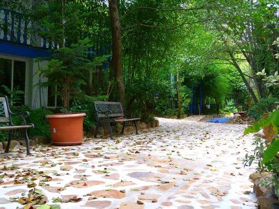 Hotel Sierra Madrona: Entrada al Hotel