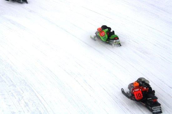 Sault Ste. Marie, MI: I-500 Snowmobile Race