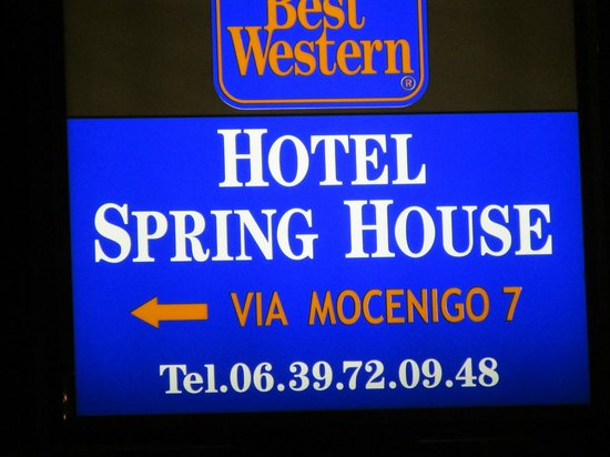 Best Western Hotel Spring House: Best place to stay