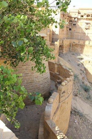 Hotel Killa Bhawan: On est dans les remparts de la forteresse
