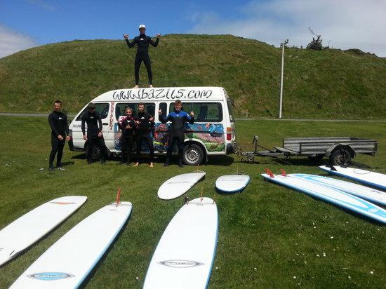 Bazil's Hostel & Surf School : surf