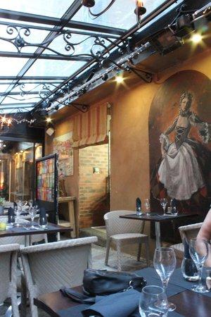 Restaurant Don Quichotte : Terrasse couverte