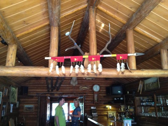 Spotted Horse Ranch: the main lodge