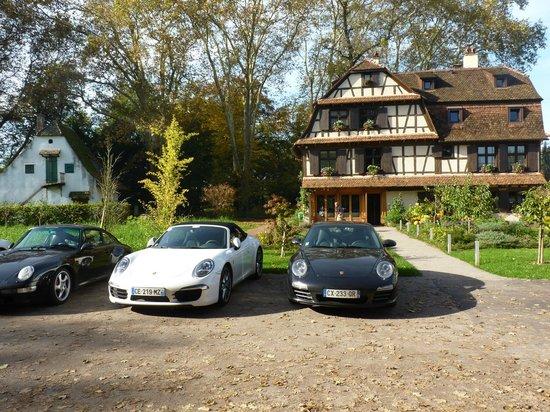 Du Côté de Chez Anne : Repas d'un club Porsche