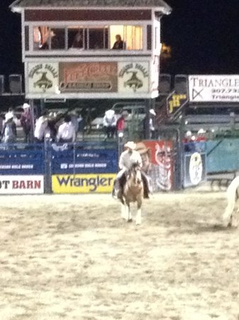 Jackson Hole Rodeo Grounds: rodeo