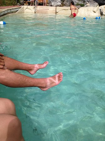 Granite Hot Springs: nate's feet