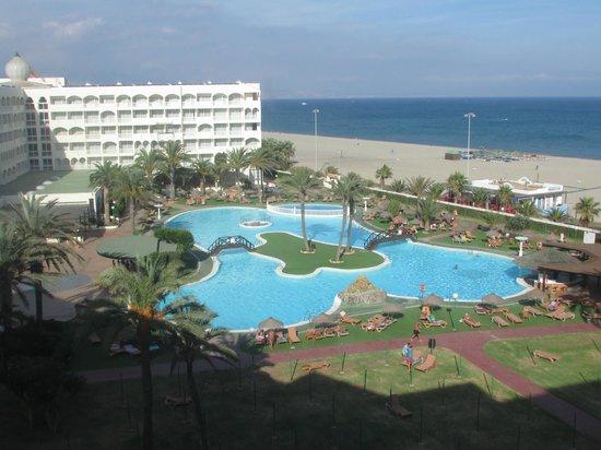 Evenia Zoraida Park: view from our room, gorgeous!