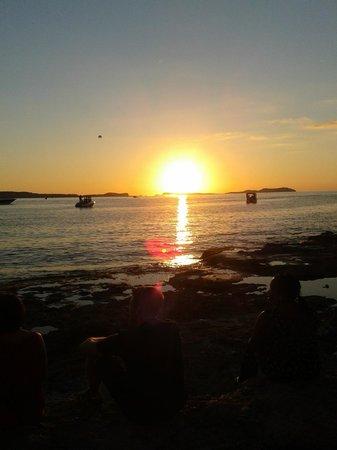 Hotel Puchet: Atardecer en San Antoni, Ibiza