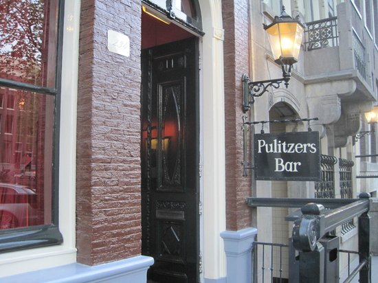 Hotel Pulitzer Amsterdam: Good times in Pulitzer's Bar