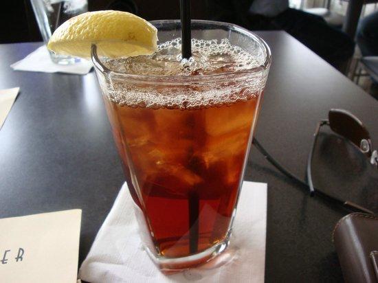 Square Burger: Iced Tea