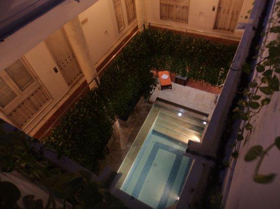 Casa Canabal Hotel Boutique: Vista de cima para baixo