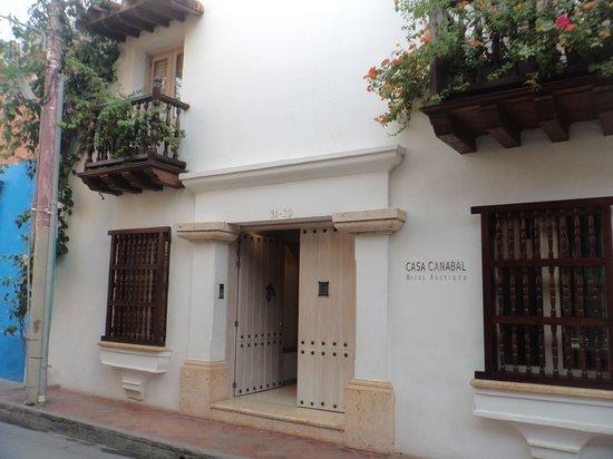 Casa Canabal Hotel Boutique: Fachada