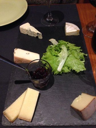 L'Affineur' Affiné : The day's selection of five cheeses