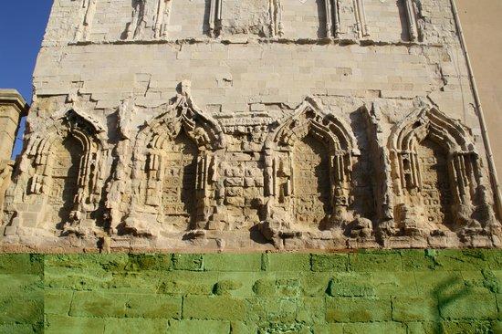 Duomo (Agrigento): Dettaglio della parete di lato