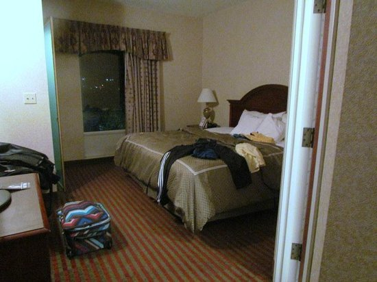 Comfort Suites: one of two bedrooms.