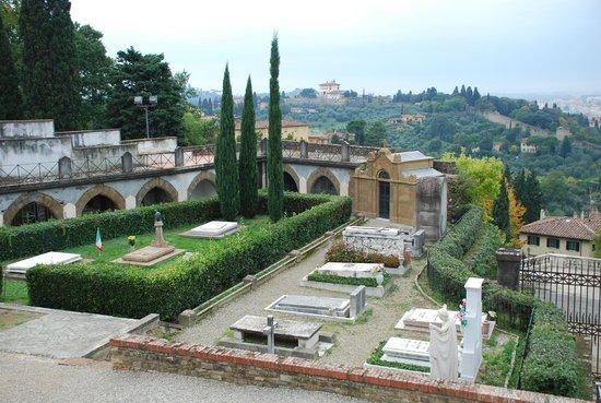 Basilica San Miniato al Monte : First Christian cemetery in Florence...
