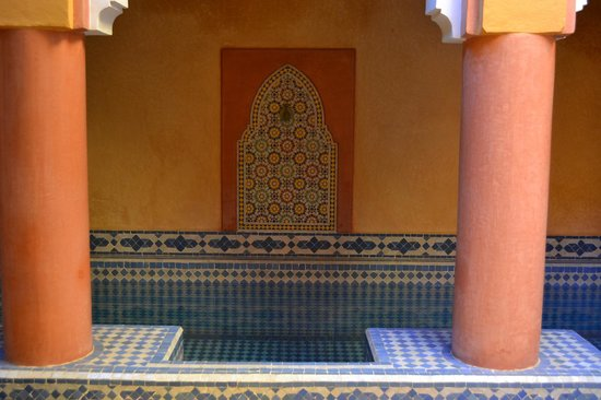 Ryad El Borj : The plunge pool in the smaller Riad - so refreshing!