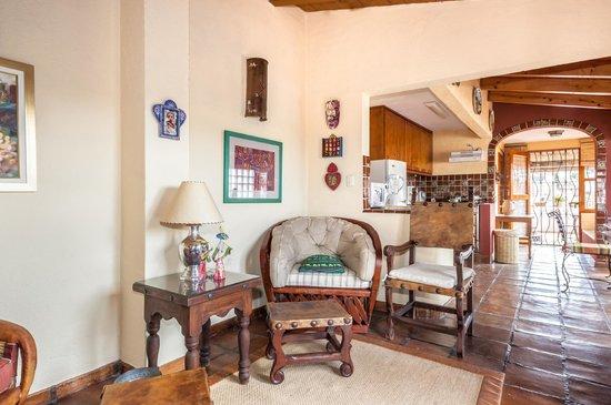 Tres Casitas Bonitas: Living Room in Casita #3