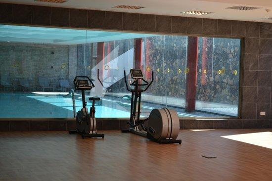 Caybeach Sun: Gym and indoor pool