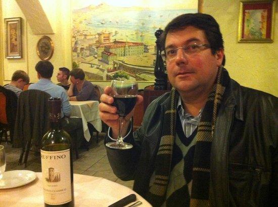 Trattoria Verdi Restaurant: Excelente vinho !