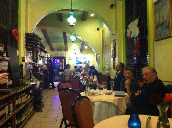 Trattoria Verdi Restaurant: Belo ambiente.