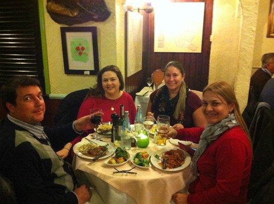 Trattoria Verdi Restaurant: jantar.