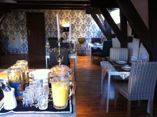 Crown Bed & Breakfast : Nice breakfast