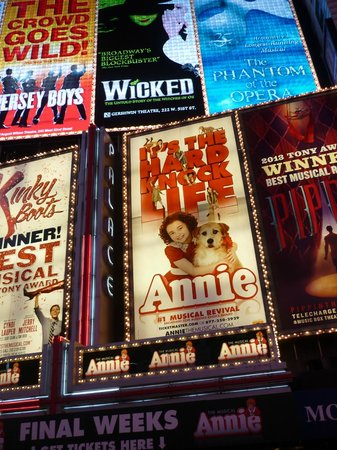 Annie the Musical: Annie at the Palace Theater 2