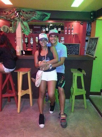 Calipso Hostel: Tungabar con el Rawry!
