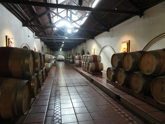 Bodega Luigi Bosca Familia Arizu : Bodega pimturas del via crucis