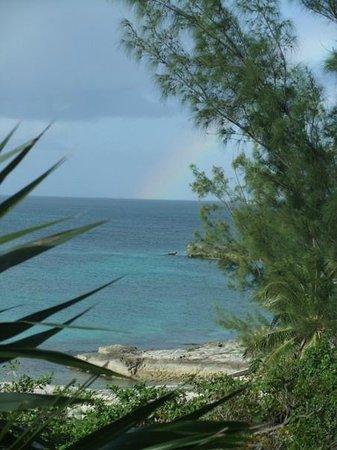Rainbow Inn : Rocky beach