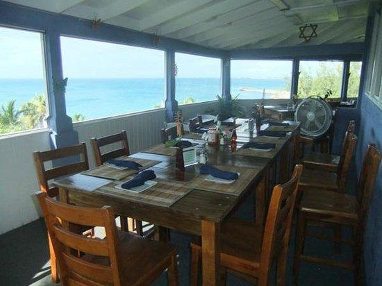Rainbow Inn : Restaurant porch