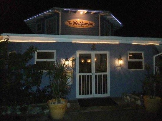 Rainbow Inn : Restaurant at night