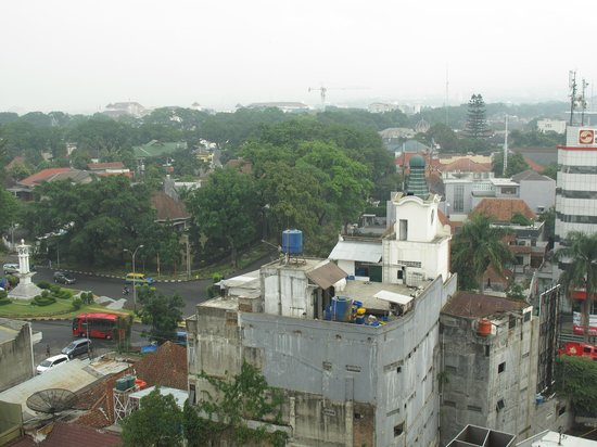 Novotel Bandung: View from the window