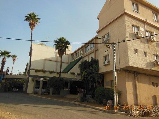 Astoria Galilee Hotel - Tiberias: парадный вход