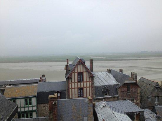 Auberge Saint-Pierre : Terrace view
