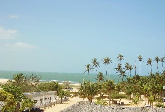 Pousada Caminho Da Praia: Vista desde la terraza
