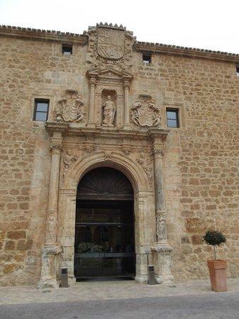 Castilla Termal Burgo de Osma: Facha del hotel