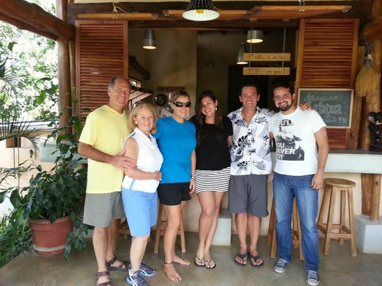 Casa Lajagua: April and her family, nicest people ever!