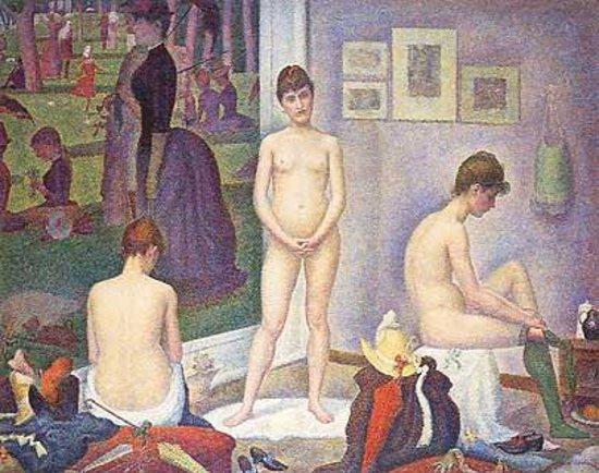 The Barnes Foundation : Georges Seurat, Les Poseuses