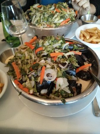 Maritime: Mussels style of the chef