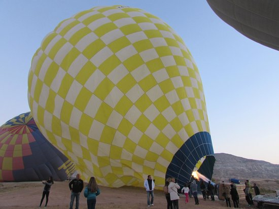 From our balloon - Picture of Turkiye Balloons, Goreme ...