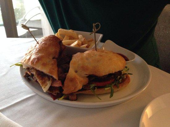 Sofitel Gold Coast Broadbeach : Steak sandwich, lovely