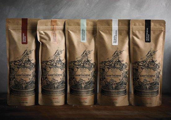 Hawthorne Coffee: Hawthorne retail coffee.