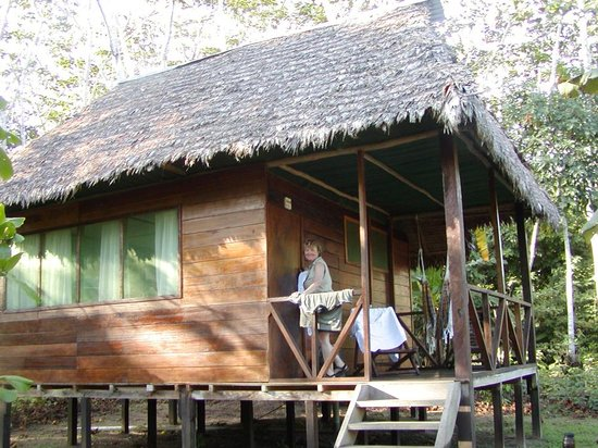 Wasai Tambopata Lodge: Our cabin had a great view