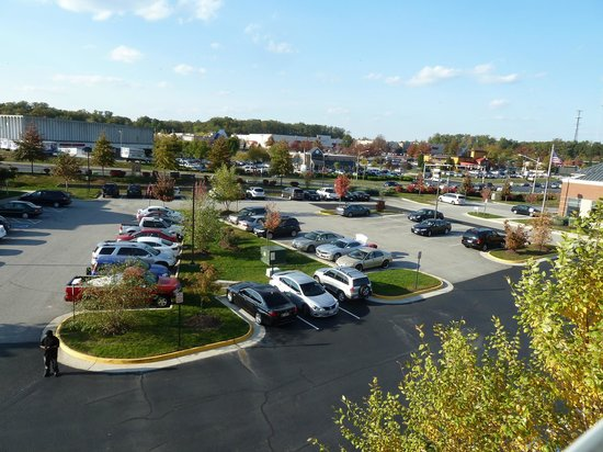 Country Inn & Suites By Carlson, Potomac Mills Woodbridge : View from room